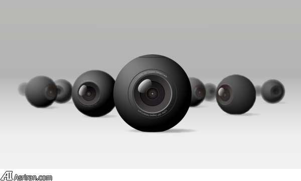 معرفی کوچکترین دوربین 360 درجه جهان