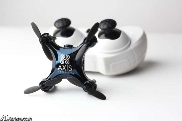 معرفی کوچکترین پهپاد دوربیندار جهان