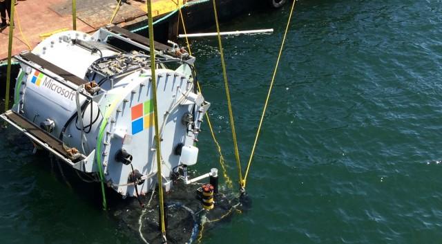 تاسیس پایگاه داده جدید مایکروسافت در زیر آب