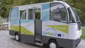 اجرای پروژه اتوبوس شهری بدون راننده در پنج شهر اروپایی