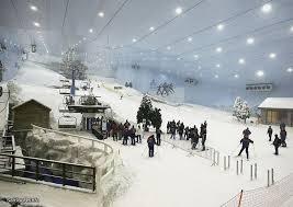 برف همیشگی در پیست های اسکی