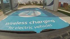 سامانه ای برای شارژ خودروهای الکتریکی بدون استفاده از کابل