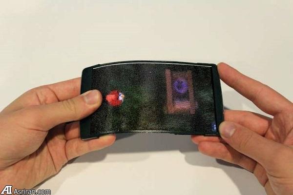 «هولوفلکس»؛ تلفن همراه با بدنه و نمایشگر انعطافپذیر