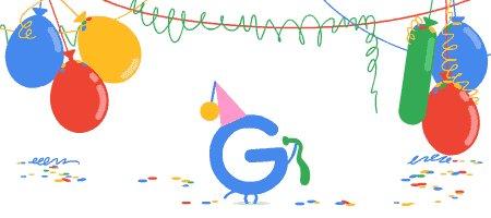 گوگل 18 سالگیاش را جشن گرفت