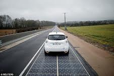 بهرهبرداری از اولین جاده خورشیدی جهان