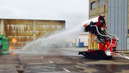 در دنیا از چه فناوریهایی در آتشنشانی استفاده میشود؟