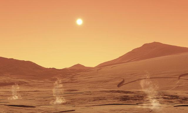میکروبها میتوانند در مریخ زنده بمانند