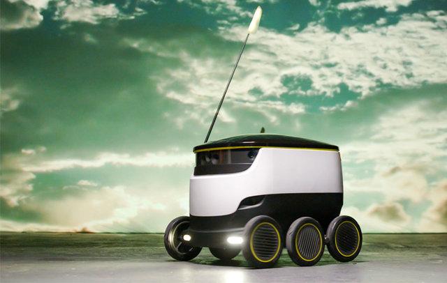 گسترش استفاده از رباتهای تحویلدهنده در آمریکا