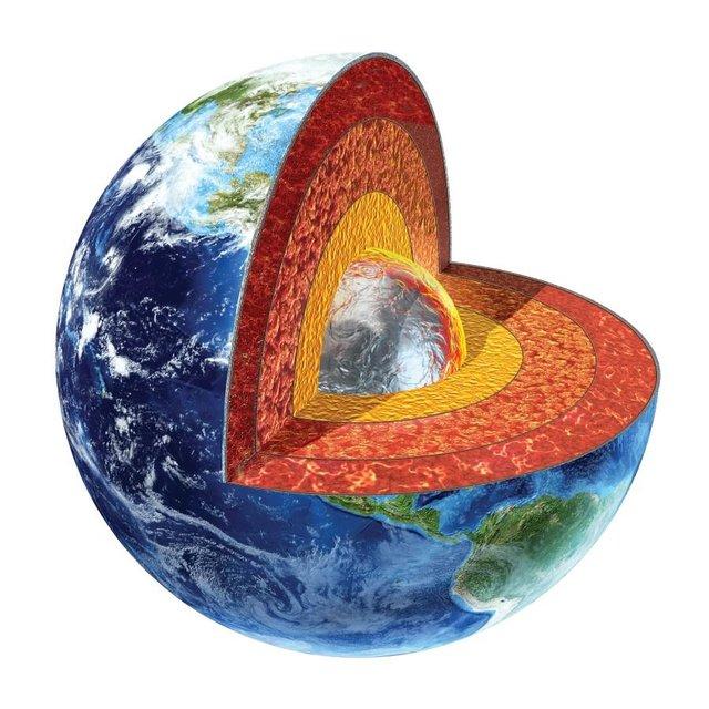 دمای داخلی زمین 60 درجه بیشتر از تصورات است