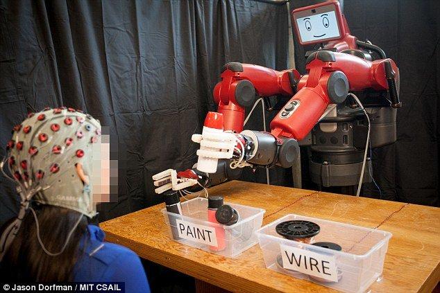 ساخت رباتی که ذهن انسان را میخواند