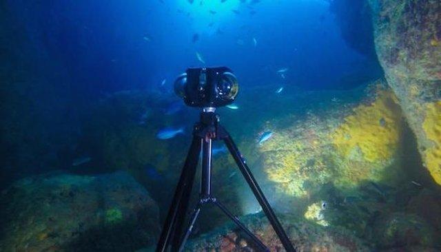 رونمایی از دوربین فیلمبرداری 360 درجه در زیر آب