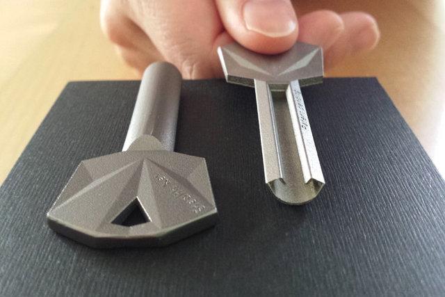 ساخت کلیدی که کپی شدنی نیست