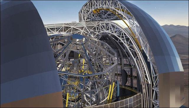 ساخت بزرگترین تلسکوپ جهان در شیلی
