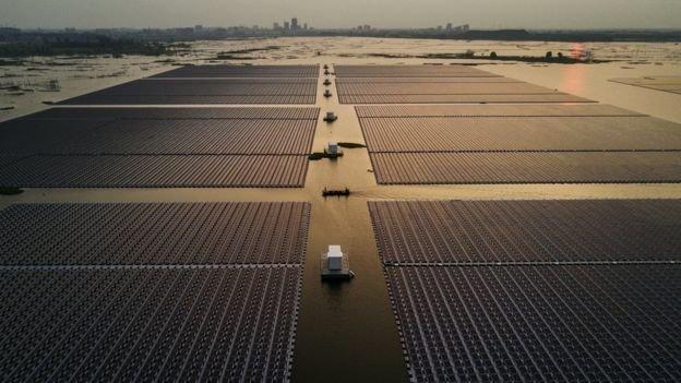 نیروگاههای خورشیدی شناور, راه حلی جدید برای مشکلی قدیمی
