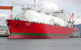 گاز طبیعی مایع، سوخت پاک کشتیهای بزرگ باربری
