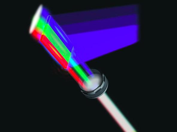 تولید لیزر سفید با نانو ورق های نیمه هادی
