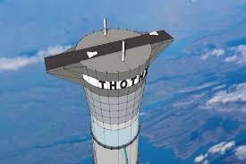 آسانسور فضایی در 20 کیلومتری از زمین